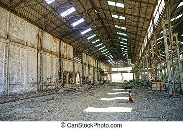 gyár, lakatlan