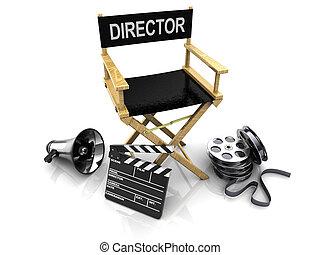 gyártás, mozi