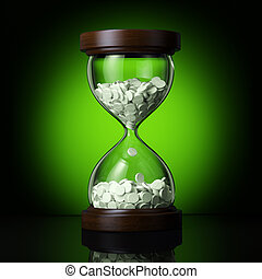 gyógyszerészeti, ügy, képben látható, zöld, bölcsész