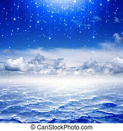 gyönyörű, ég