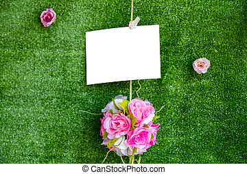 gyönyörű, alatt, esküvő ünnepély