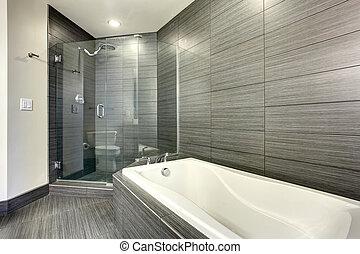 gyönyörű, bathroom., extremly, modern