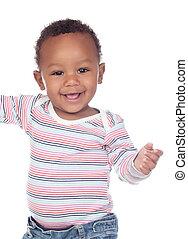 gyönyörű csecsemő, afrikai