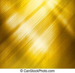 gyönyörű, fényesített, arany, struktúra