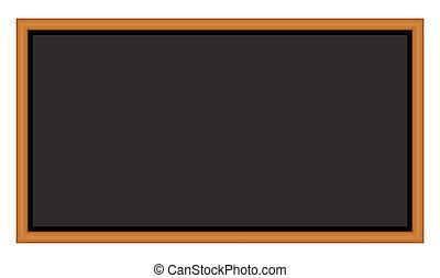 gyönyörű, jelkép, elszigetelt, ábra, vektor, chalkboard, háttér, fehér, design., ikon