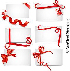 gyönyörű, kártya, állhatatos, piros