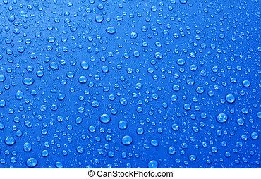 gyönyörű, kék, savanyúcukorka, víz, háttér