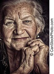 gyönyörű, nagyanyó