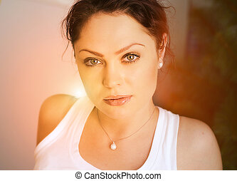 gyönyörű woman