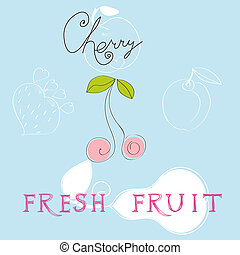 gyümölcs, friss