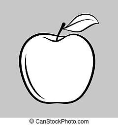 gyümölcs, ikon