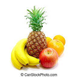 gyümölcs, tropikus