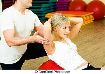 gyakorlás, fizikai
