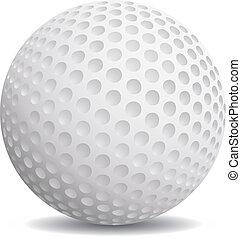 gyakorlatias, golf labda