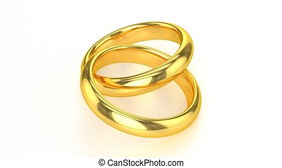 gyakorlatias, gyűrű, arany-, esküvő