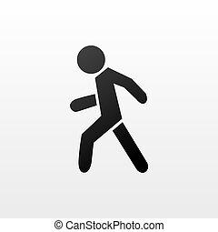 gyalogos, jelkép