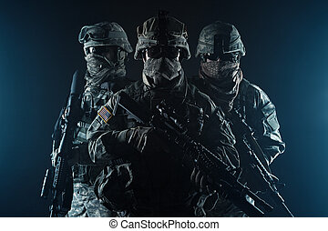 gyalogos, paratroopers, légi úton szállított