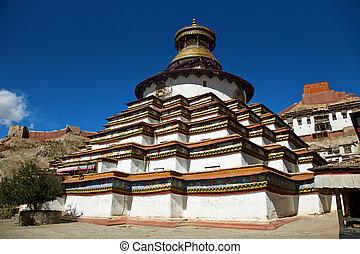 gyantse, kumbum, monasterio, palcho