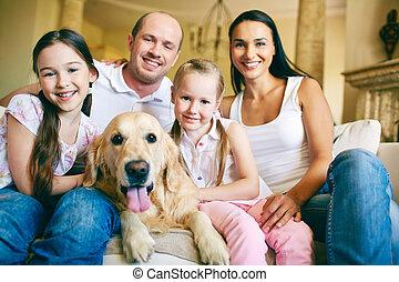 gyengéd, család