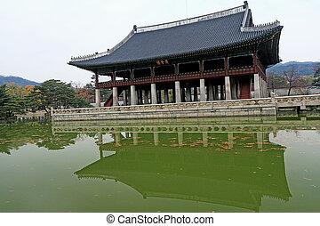 Gyeongbok Palace in South Korea