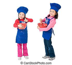 gyerekek, főzés