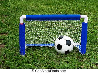 gyermek, futball