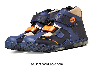 gyermekek, cipők