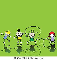 gyermekek játék
