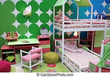 gyermekek, szoba