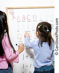 gyermekkor, tanulás
