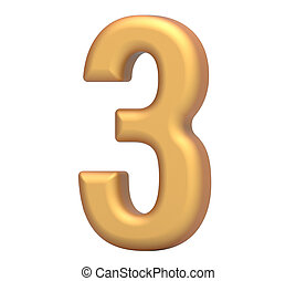 gylden, 3, antal