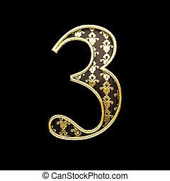 gylden, 3, brev, illustration, 3