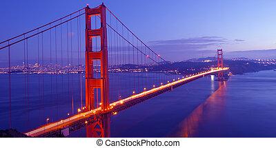 gylden låge bro