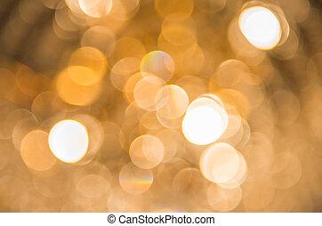 gyllene, abstrakt, bakgrund