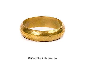 gyllene, armband