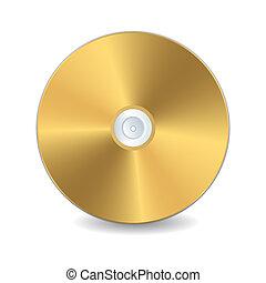 gyllene, cd-skiva
