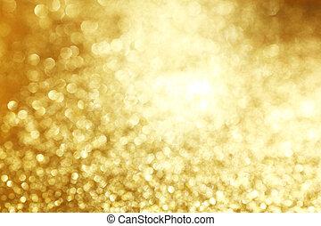 gyllene, glänsande, bakgrund