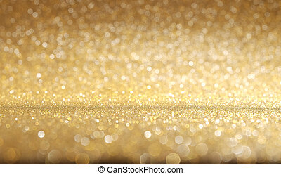 gyllene, glitter, glänsande, struktur, bakgrund.