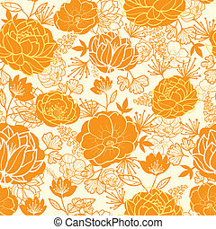 gyllene, konst, mönster, seamless, bakgrund, blomningen