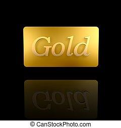 gyllene, kort