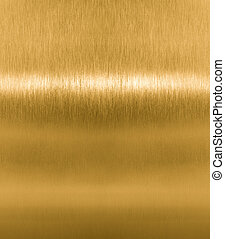 gyllene, mässing, metall, eller, struktur