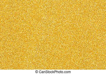 gyllene, struktur, bakgrund., bakgrund, glitter, jul