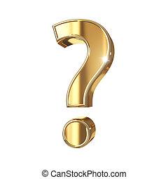 gyllene, symbol, med, snabb bana, isolerat, vita, bakgrund