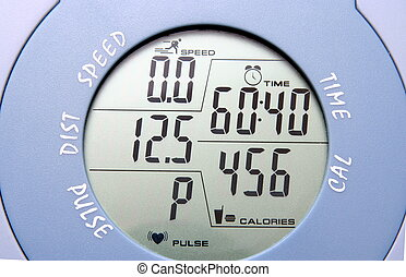 gym bike meter, as lifestyle (healthy)  background