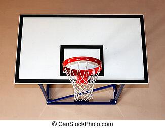 basketball hoop - Gym building with basketball hoop