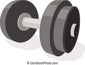 Gym dumbbell