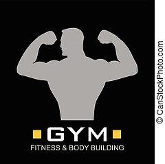 Gym. Fitness, Bodybuilding