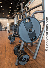 Gym Fitness Center Interior