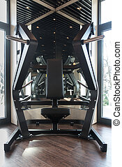 Gym Fitness Center Interior