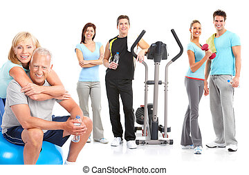 Gym, Fitness, healthy lifestyle